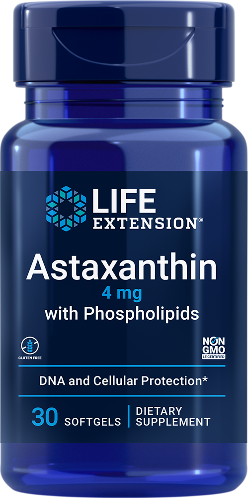 Astaxanthin with Phospholipids - Absorbable multi-benefit antioxidant formula