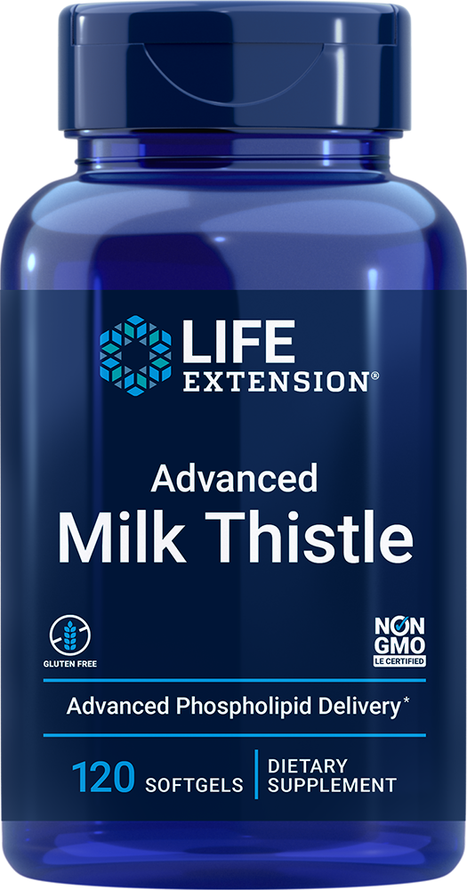 European Milk Thistle - Promotes healthy liver function