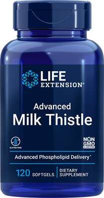 Advanced Milk Thistle, 120 softgels - Life Extension
