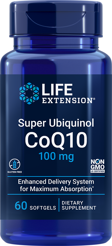 Super Ubiquinol CoQ10 - Our most absorbable CoQ10
