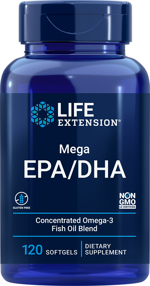Mega EPA/DHA - Twice As Much EPA & DHA As Many Commercial Fish Oils