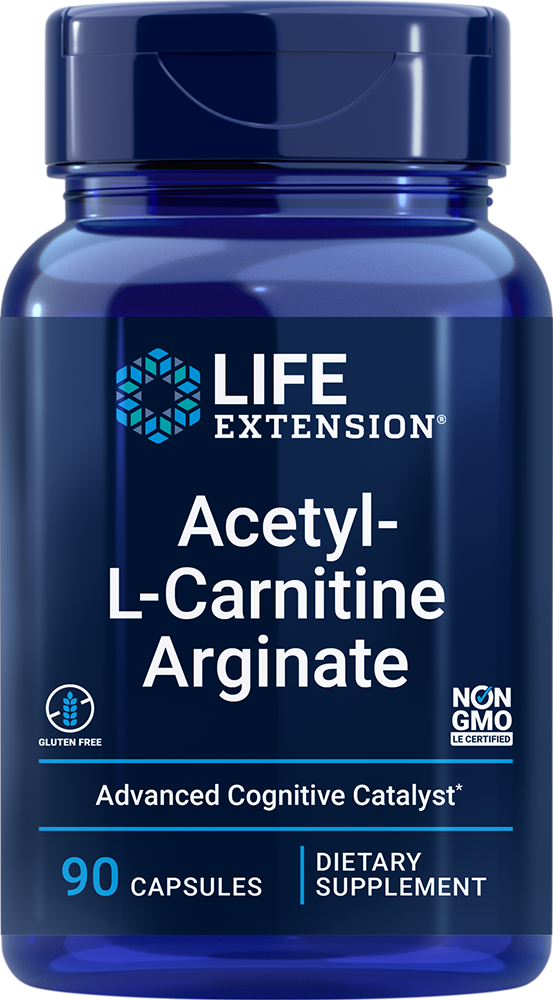 Acetyl-L-Carnitine Arginate - Advanced form of carnitine for cellular energy & brain health