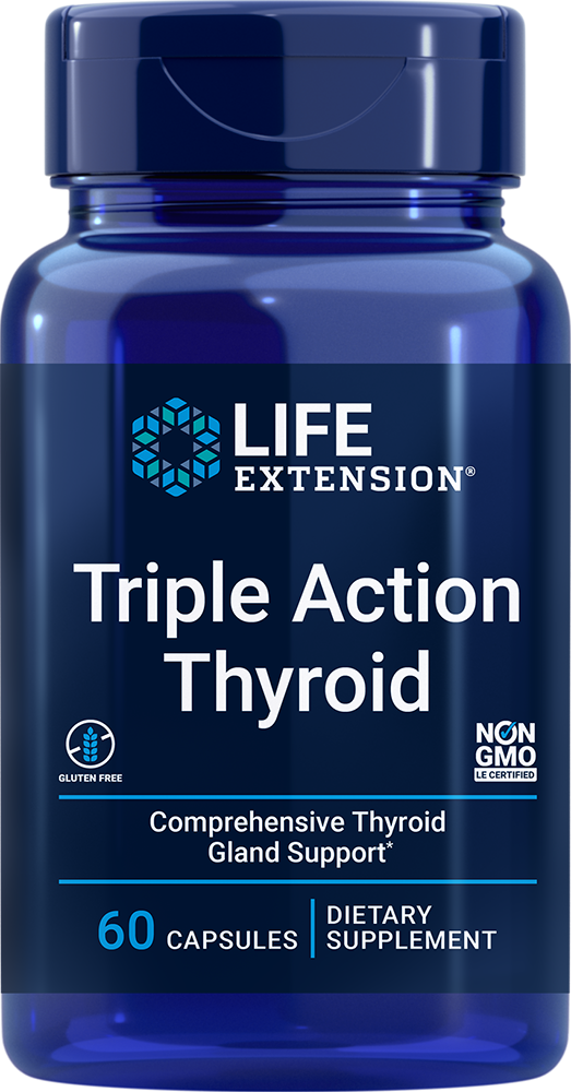 Triple Action Thyroid - Comprehensive thyroid gland support*