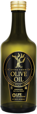 California Estate Organic Extra Virgin Olive Oil, 500 ml - Life Extension