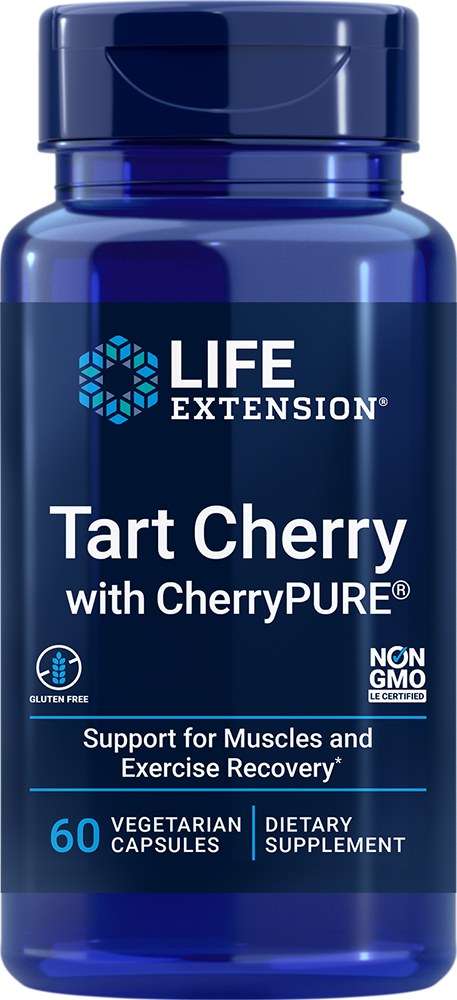 Tart Cherry with CherryPURE® - Promotes rapid muscle recovery after exercise