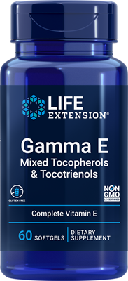 Gamma E Mixed Tocopherols & Tocotrienols, 60 softgels - Life Extension