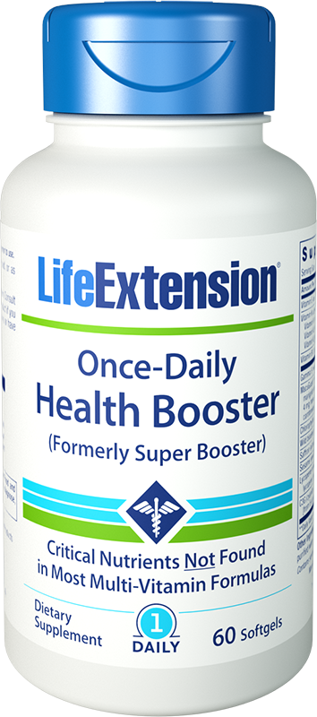 Once-Daily Health Booster - Multi-nutrient formula with eye support