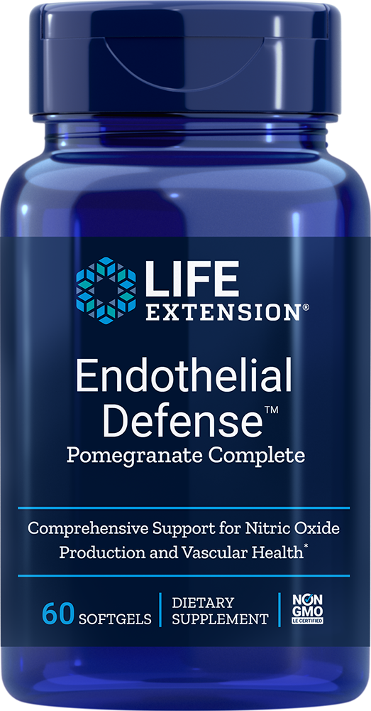 Endothelial Defense™ Pomegranate Complete - For healthy arteries, protect your vascular endothelium