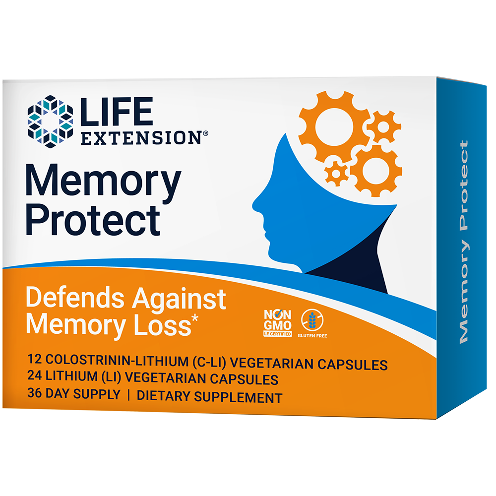 Memory Protect - Powerful dual-action cognition & memory support