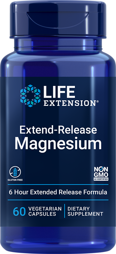 Extend-Release Magnesium - Essential magnesium nutrient in a six-hour formula