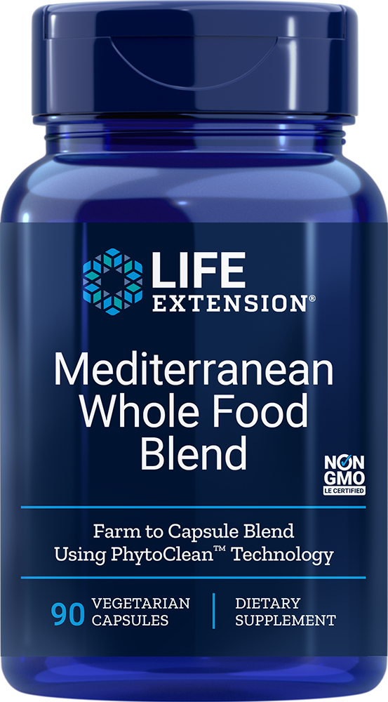 Mediterranean Whole Food Blend - Pure, heart-healthy Mediterranean food extracts