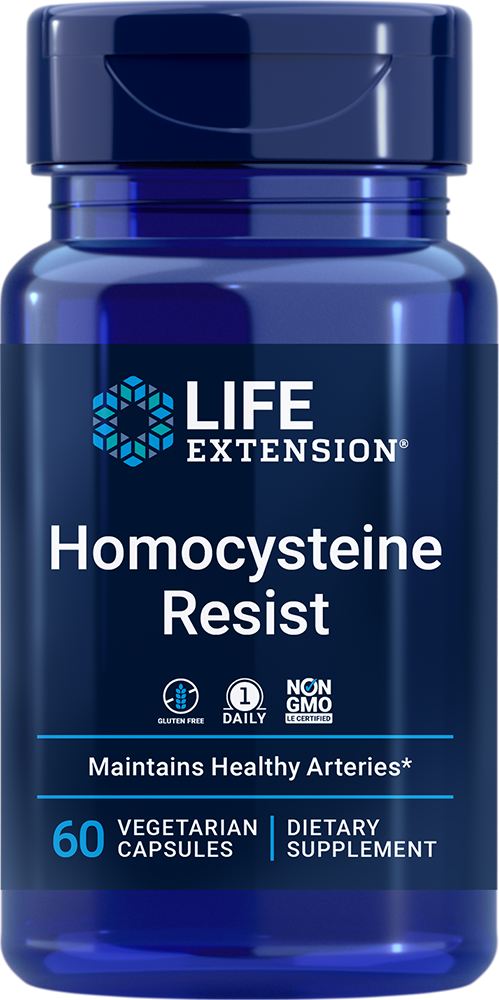 Homocysteine Resist - Wide-spectrum vitamin B supplement for cardiovascular and cognitive health support