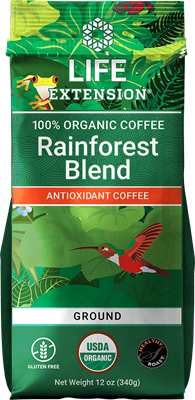Rainforest Blend Ground Coffee, 12 oz - Life Extension