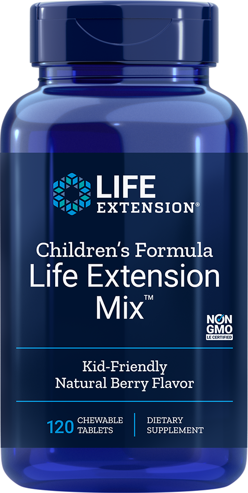 Children's Formula Life Extension Mix™ - Kid-Friendly Natural Berry Flavor