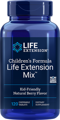 Children's Formula Life Extension Mix, 120 chewable tablets - Life Extension