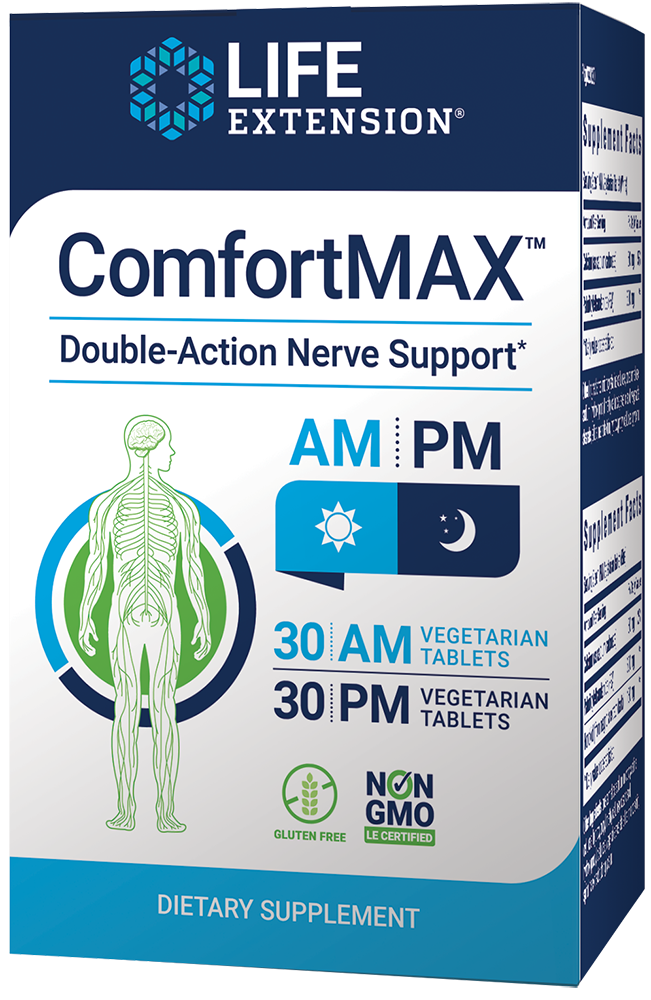 ComfortMAX™ - Dual-action nerve support for discomfort relief