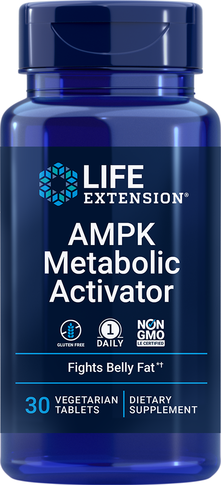 AMPK Metabolic Activator - Revitalize cellular metabolism & fight unwanted abdominal fat*