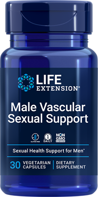 Male Vascular Sexual Support, 30 capsules - Life Extension