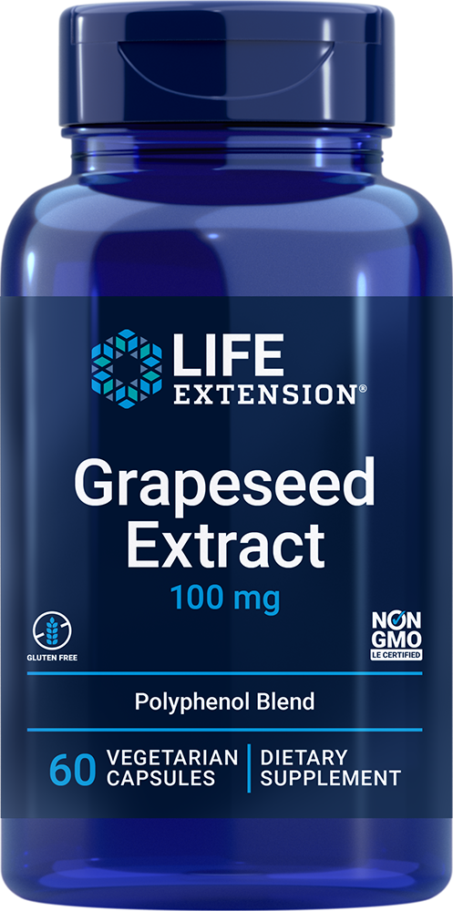 Grapeseed Extract - Potent blend of antioxidant plant extracts