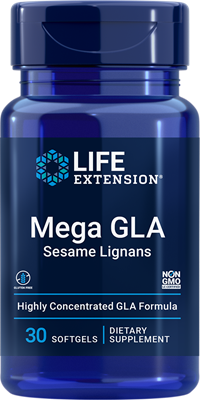 Mega GLA Sesame Lignans, 30 softgels - Life Extension