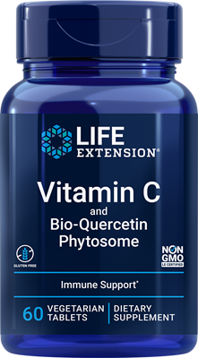 Vitamin C and Bio-Quercetin Phytosome, 60 vegetarian tablets - Life Extension