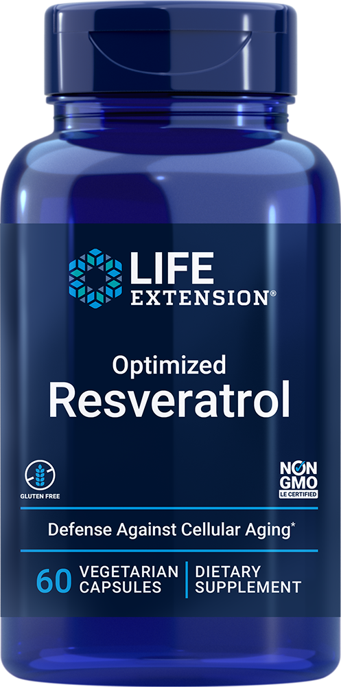 Optimized Resveratrol - Activate your longevity genes