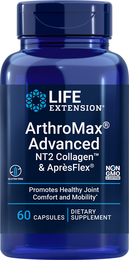 ArthroMax® Advanced with NT2 Collagen™ & AprèsFlex® - Comprehensive joint health, comfort, and mobility formula