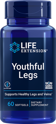 Youthful Legs, 60 softgels - Life Extension