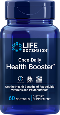 Once-Daily Health Booster, 60 softgels - Life Extension