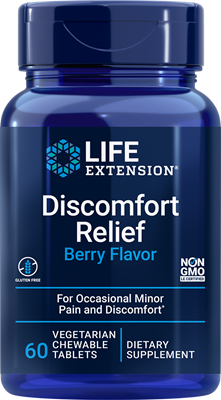 PEA Discomfort Relief, 60 chewable tablets - Life Extension