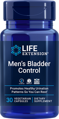 Men's Bladder Control, 30 vegetarian capsules - Life Extension