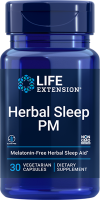 Herbal Sleep PM, 30 capsules - Life Extension