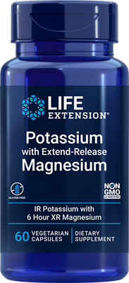 Potassium with Extend-Release Magnesium, 60 vegetarian capsules - Life Extension
