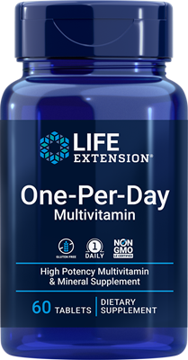 One-Per-Day Tablets, 60 tablets - Life Extension