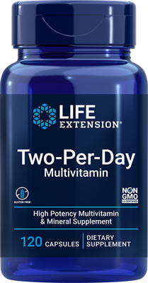 Two-Per-Day Capsules, 120 capsules - Life Extension