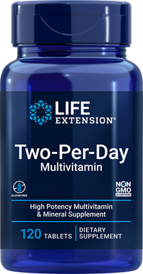 Two-Per-Day Tablets, 120 tablets - Life Extension