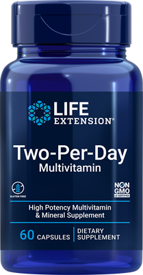 Two-Per-Day Tablets, 60 capsules - Life Extension