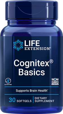 Cognitex Basics, 30 softgels - Life Extension