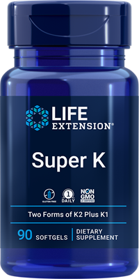 Super K , 90 softgels - Life Extension
