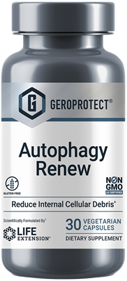 GEROPROTECT® Autophagy Renew, 30 Vegetarian Capsules - Life Extension