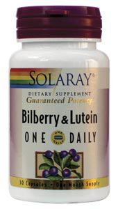 Bilberry & Lutein One Daily  -