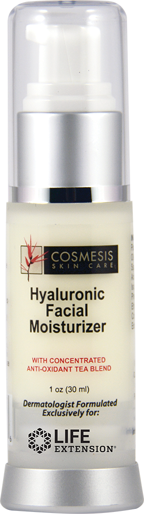 Hyaluronic Facial Moisturizer - Apply essential moisture daily