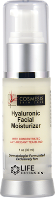 Hyaluronic Facial Moisturizer, 1 oz - Life Extension