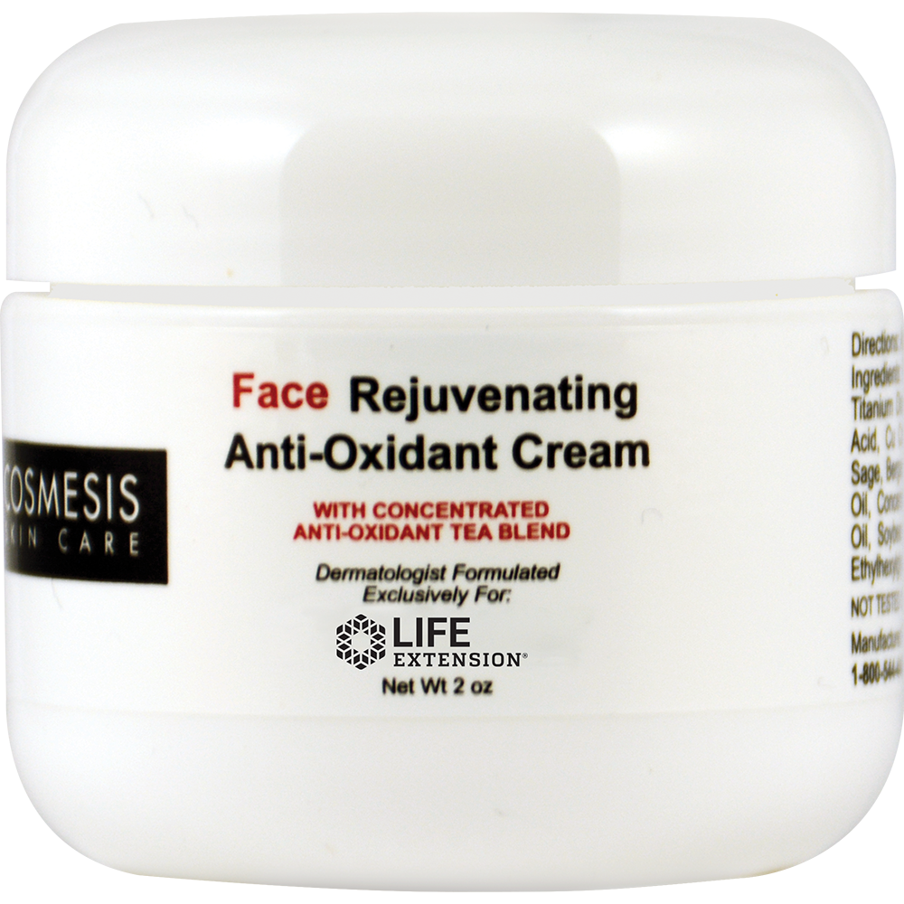 Face Rejuvenating Anti-Oxidant Cream - Renew the look of youth