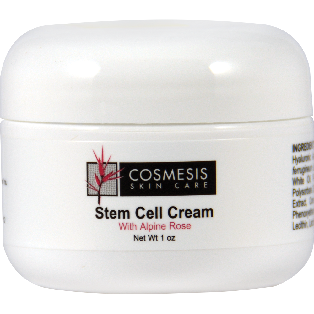 Stem Cell Cream with Alpine Rose - Protect Your Skin Against Environmental Stress
