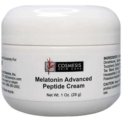 Melatonin Advanced Peptide Cream, 1 oz - Life Extension