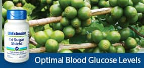 Optimal blood glucose levels