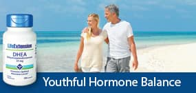 Youthful hormone balance