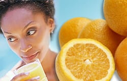 Higher vitamin C levels associated with lower blood pressure in young women
