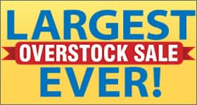 Overstock Blowout Care Sale